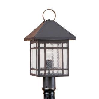 Sea Gull Lighting 82007-71 Single-light Largo Post Lantern