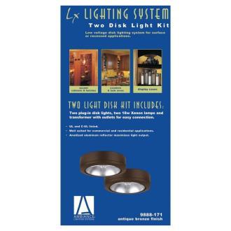 Sea Gull Lighting 9888 Two Disk Light Kit