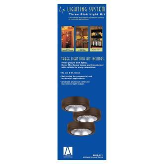 Sea Gull Lighting 9889 Three Disk Light