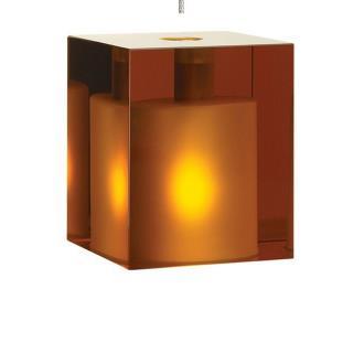 Tech Lighting 700KLCUB Cube - One Light Kablelite Low Voltage Pendant