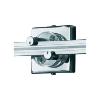 """Tech Lighting 700WMOP2S Accessory - 2"""" Square Single Feed Wall Monorail Canopy"""