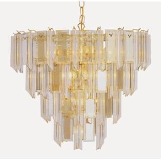 Trans Globe Lighting 7164 PB Thirteen Light 4-Tier Chandelier