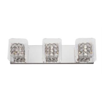 Trans Globe Lighting MDN-1116 Block - Three Light Bath Bar