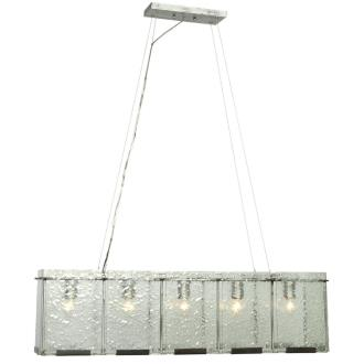 Varaluz Lighting 160N05RN Rain - Five Light Linear Pendant